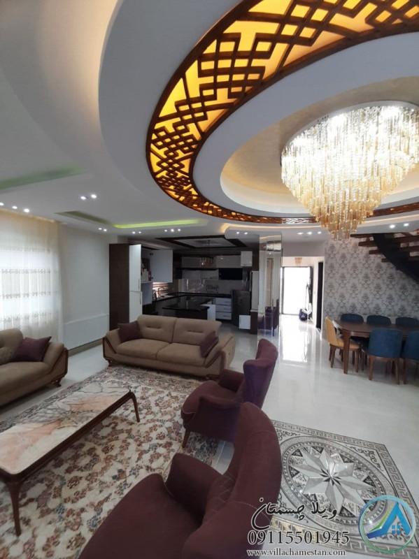 خرید ویلا باغ دوبلکس مبله لاکچری در محمودآباد